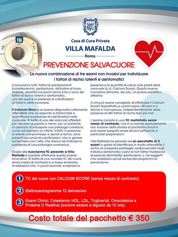 Esame Cardiologia Clinica Villa Mafalda