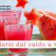 Difendersi dal caldo a tavola - Casa di Cura Villa Mafalda di Roma